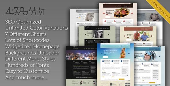 4:79 AM - Multipurpose Wordpress Theme Corporate