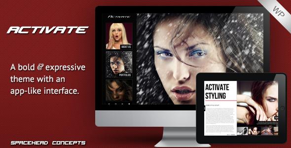 Activate - Creative and Responsive Wordpress Theme Creative