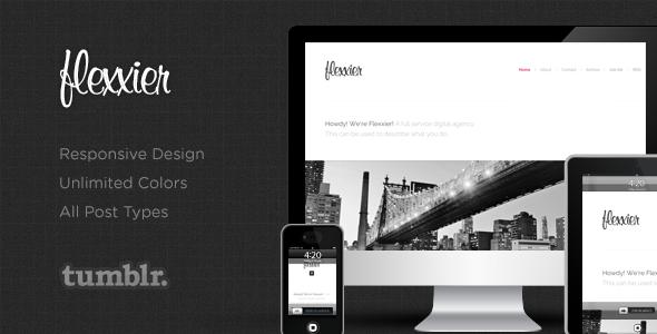Agency - Responsive Tumblr Theme Tumblr Blogging