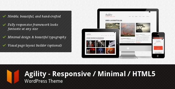Agility - Responsive HTML5 WordPress Theme Corporate