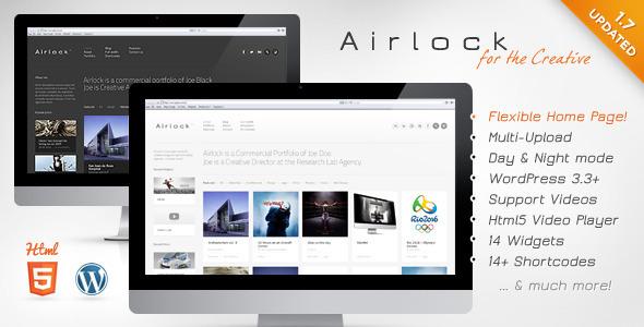 Airlock: Portfolio WordPress Theme Creative