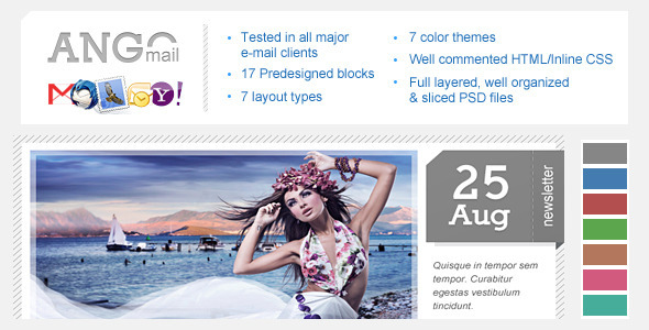 Ango Mail - Multipurpose Newsletter