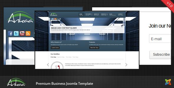 Ankaa - Joomla Business Template Corporate