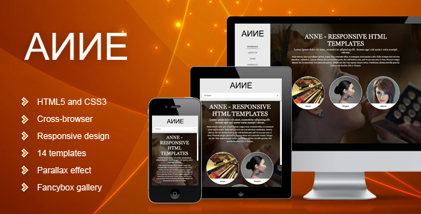 Anne - Responsive Template Creative