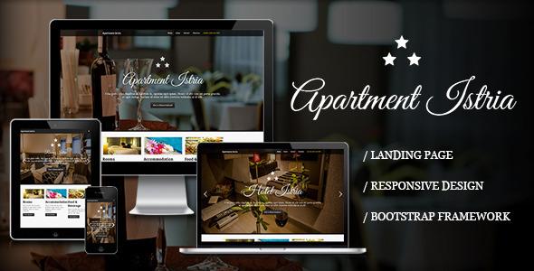 Apartment Istria - Responsive Landing Page LandingPages Landing Page
