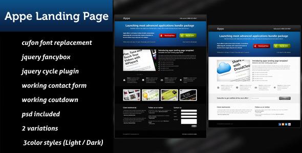 Appe Landing Page LandingPages Landing Page