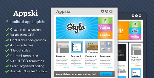 Appski - App Promotional Email Template