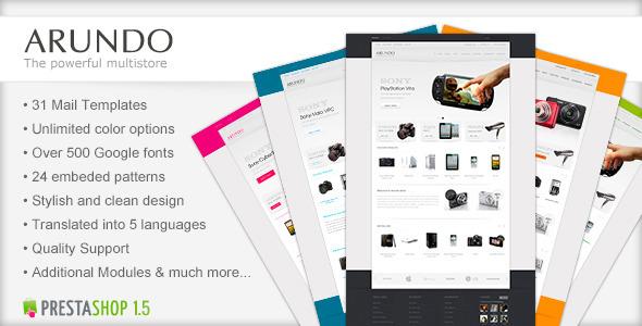 Arundo - Premium Prestashop Theme Technology
