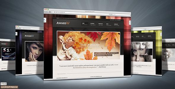 Award Premium Wordpress Theme 21 in 1 Retail