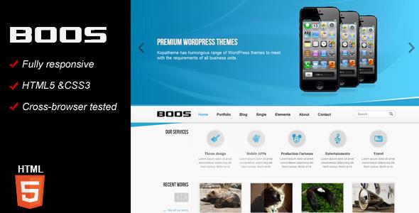 BOOS Responsive HTML5 Template Corporate