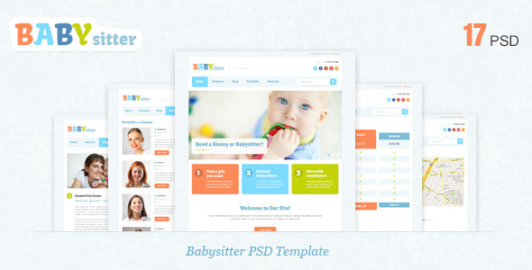 Babysitter - PSD Template Miscellaneous