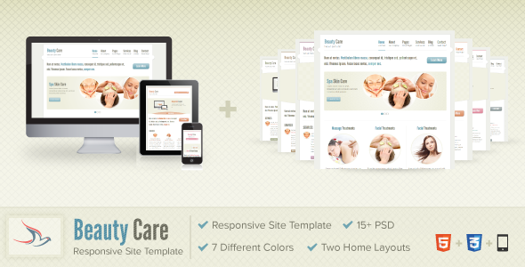 Beauty Care Template Retail