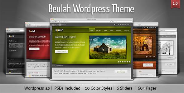 Beulah - Corporate & Business WordPress Theme Corporate