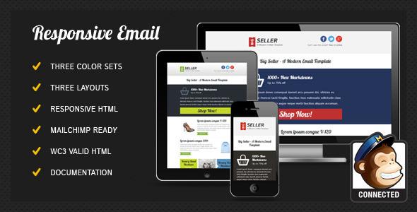 BigSeller - Modern Email Template / Newsletter EmailTemplates