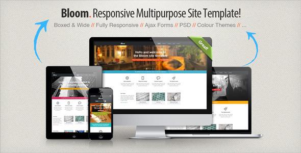 Bloom - Responsive Multipurpose Template Corporate