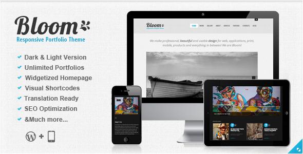 Bloom - Responsive Wordpress Theme Creative