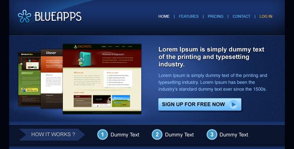 Blueapps Technology PSDTemplates