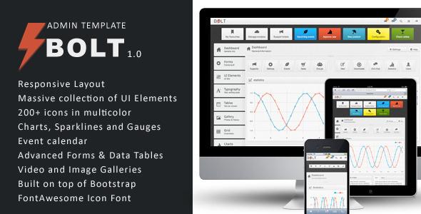 Bolt - Responsive Premium Admin Template AdminTemplates