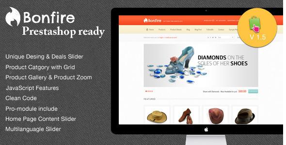 Bonfire - Premium Prestashop Theme Shopping