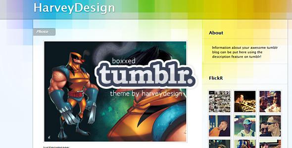 Boxxed Tumblr Theme