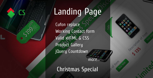 CHRISTMAS SPECIAL Landing Page LandingPages Landing Page