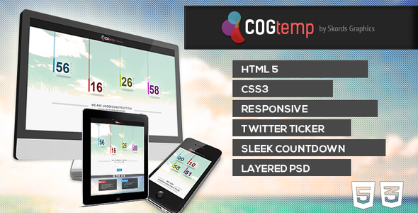 COGtemp - Coming Soon Template Specialty Page