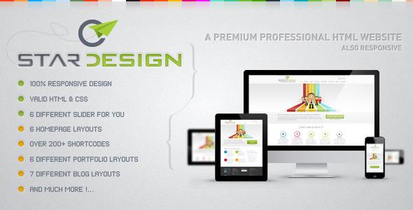 CStar Design Web Site Template Creative