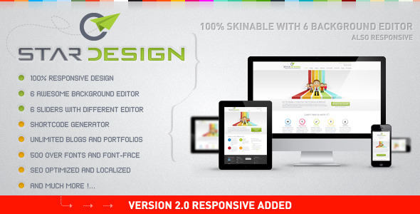 CStar Design WordPress Theme Corporate