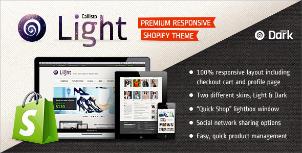 Callisto for Shopify - Premium Responsive Theme Fashion