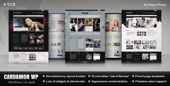 Cardamon WP — Multipurpose WordPress Theme Corporate