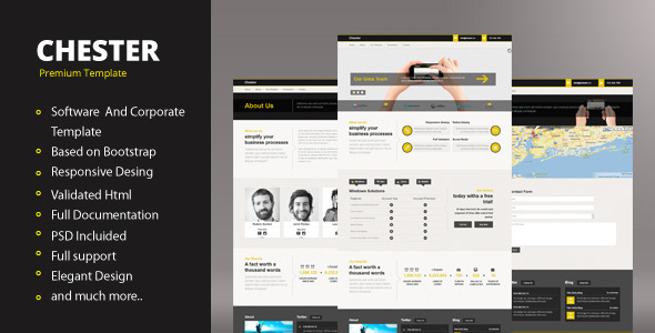 Chester - Responsive Template Technology