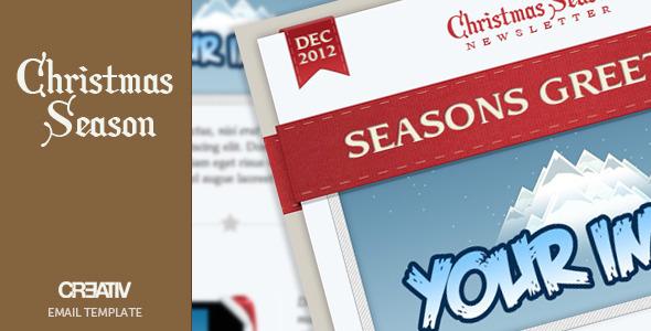 Christmas Season Email Template