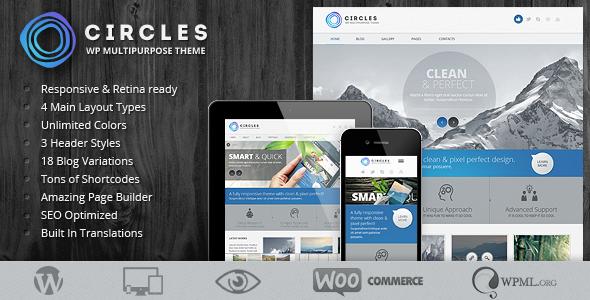 Circles - Retina Responsive Multi-Purpose Theme WordPress