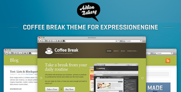 Coffee Break – Business EE Theme