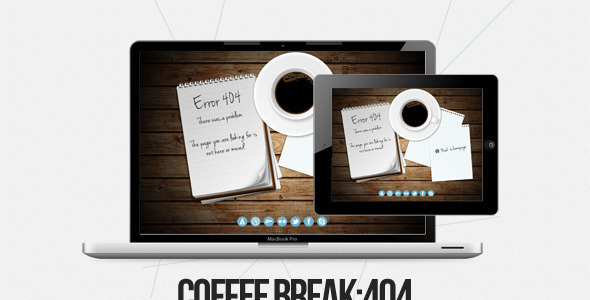 Coffee Break Template Specialty Page