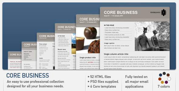 Core Business EmailTemplates Email Template