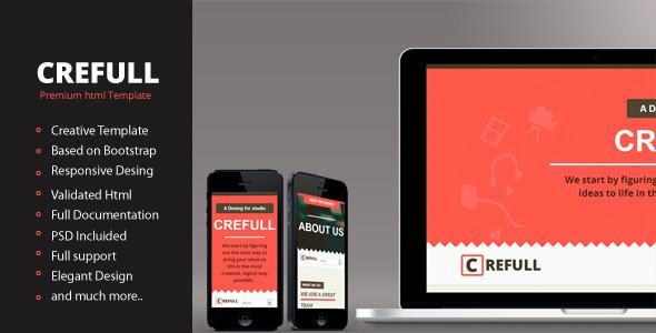 Crefull - Responsive HTML5 Template Creative