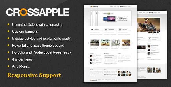 Cross Apple - Clean Business WordPress Theme Corporate