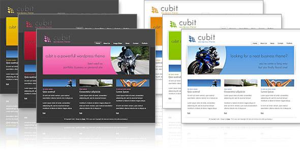 Cubit 6 in 1- Business & Portfolio Theme