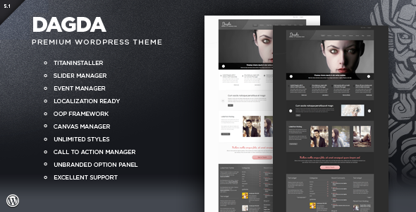 Dagda - Premium WordPress Theme Corporate