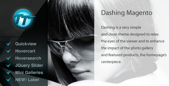 Dashing Shopping Magento