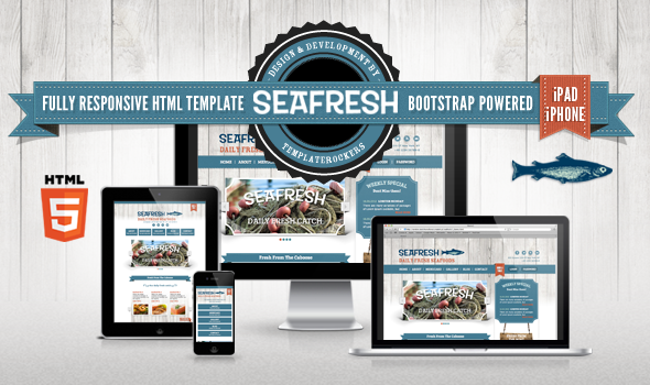 Delimondo Seafresh Fully Responsive HTML Template Entertainment