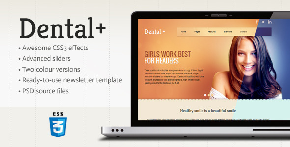 Dental+ HTML Template Retail