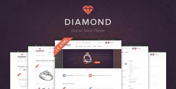 Diamond — HTML5 & CSS3 store template Retail