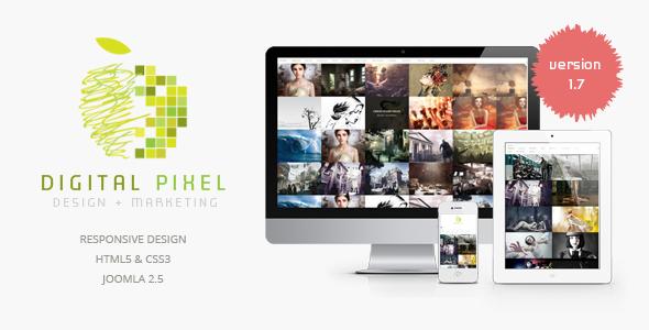 Digital Pixel Joomla Creative