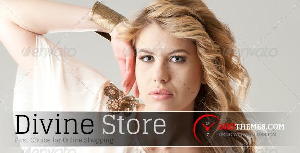 Divine Store Magento Theme Fashion
