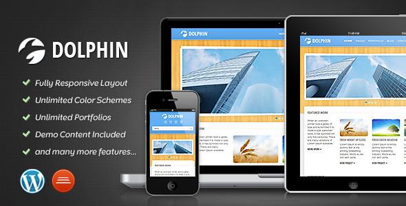 Dolphin - Responsive WordPress Theme Creative