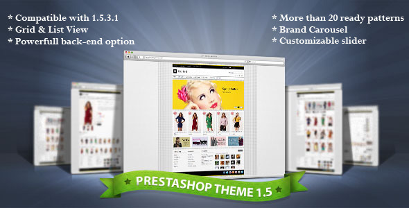 Dotted - Premium Prestashop Theme Fashion