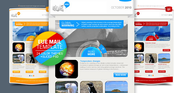 EUE Mail Template EmailTemplates Email Template