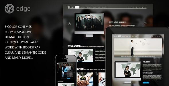 Edge Corporate Web Template Corporate